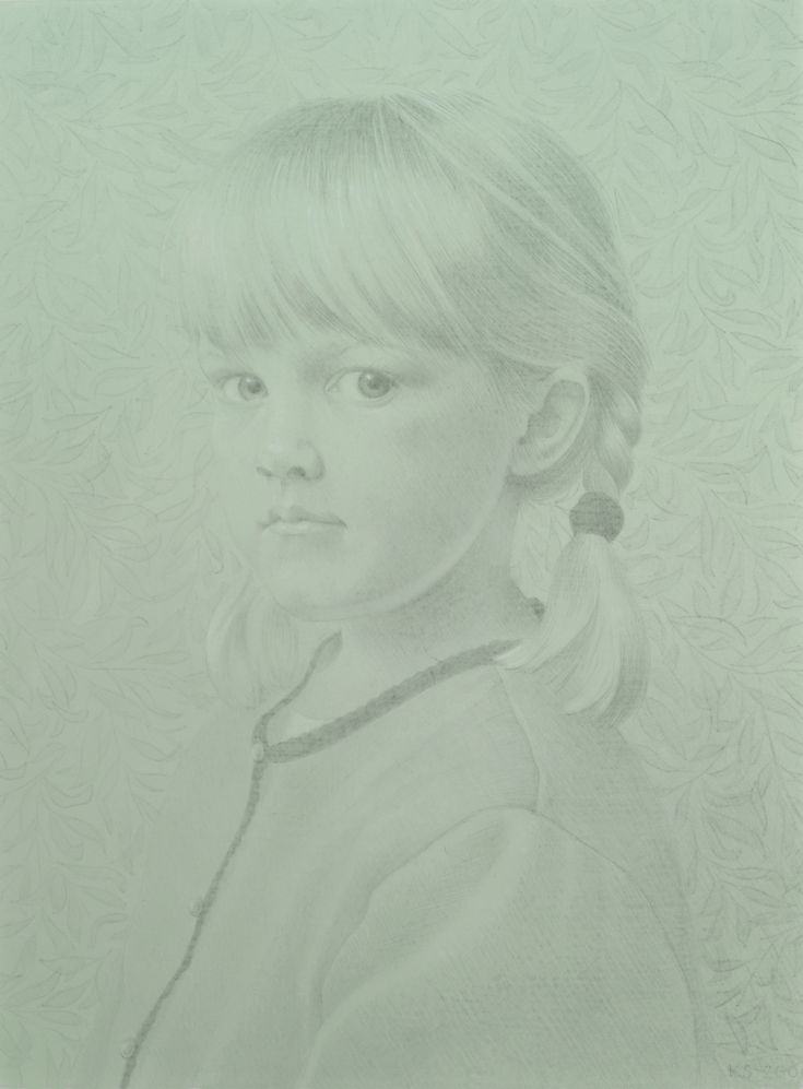 silverpoint on toned paper