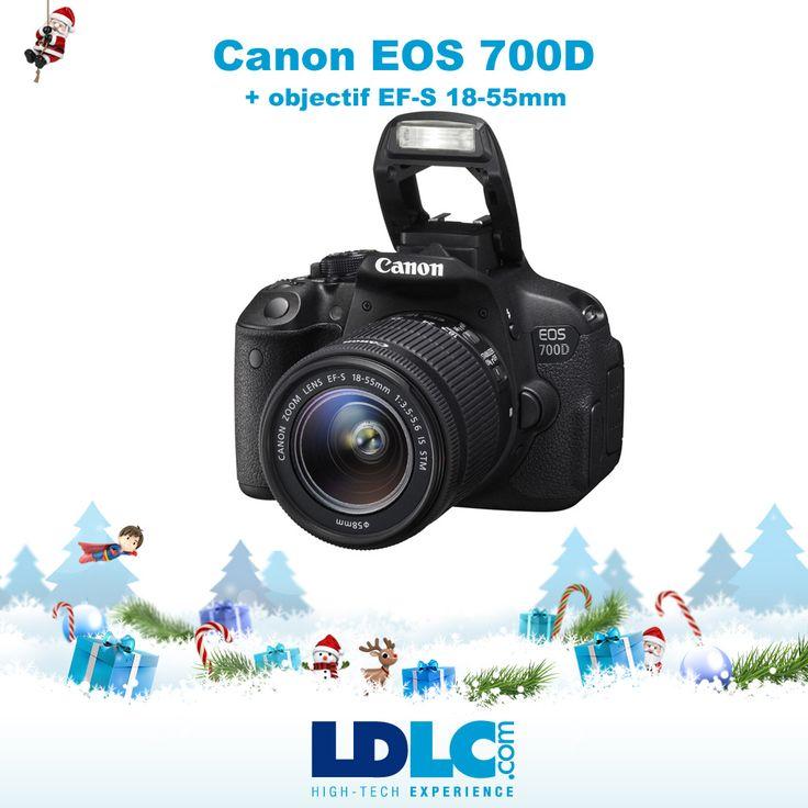Grand jeu de Noël LDLC ! Vous avez voté pour : Canon EOS 700D + EF-S 18-55mm f/3,5-5,6 IS STM  http://www.ldlc.com/fiche/PB00146473.html  RDV le 27/11 pour vous inscrire à notre grand jeu de Noël !