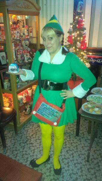 Buddy the Elf (girl) Christmas Costume - CLOTHING