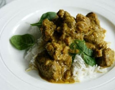 Eat Live Grow Paleo: Sweet Lamb Curry