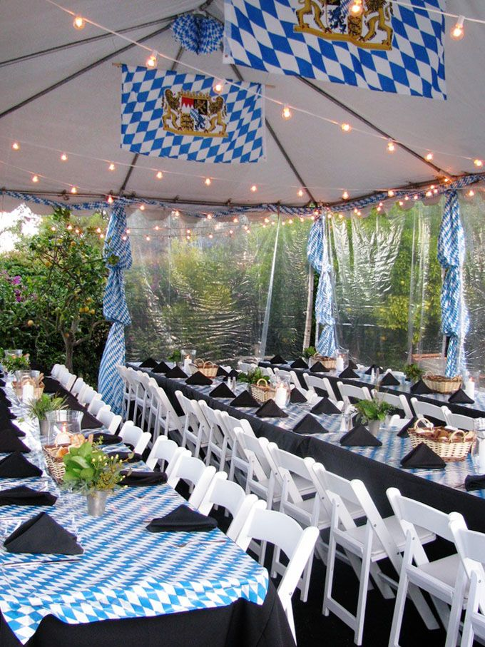 10 simple Oktoberfest party ideas - Polkadot Stationery