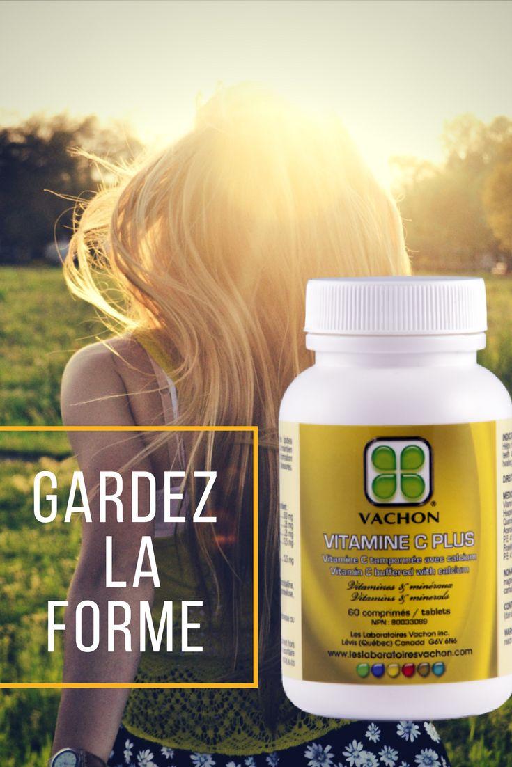 La vitamine-C Plus aide au maintien d'une bonne santé. Aide au développement et au maintien des os, du cartilage, des dents et des gencives.