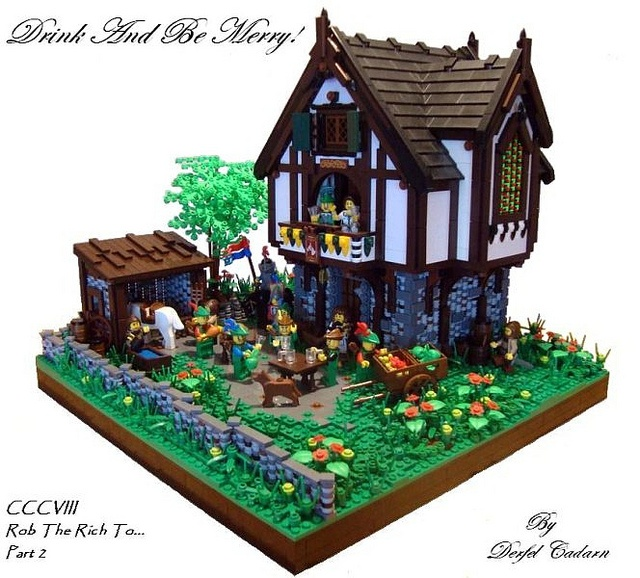 lego medieval house instructions