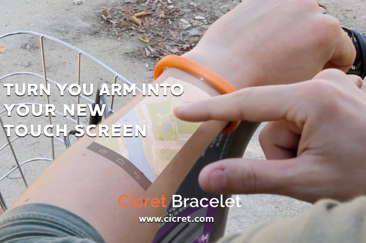 Cicret App & Bracelet - новое израильское изобретение