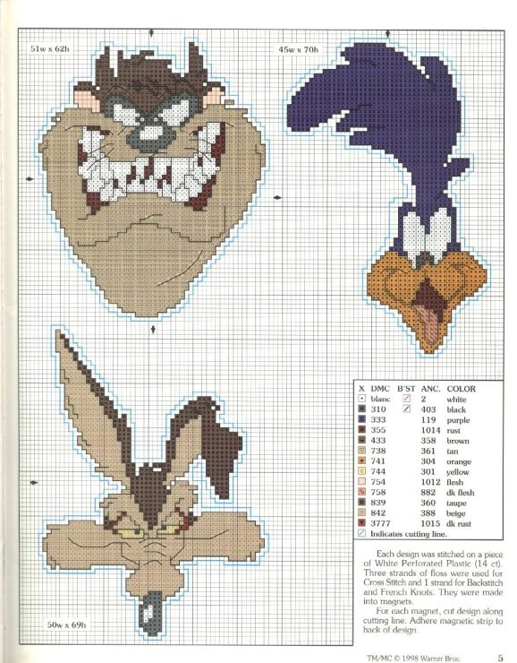 Gallery.ru / Фото #5 - Looney Tunes Big Book of Cross Stitch - Chispitas