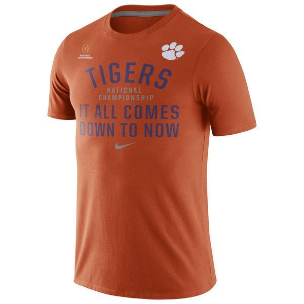 Clemson Tigers Nike 2016 College Football Playoff National Championship Bound Now T-Shirt - Orange - $19.99