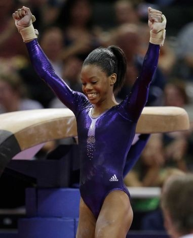 Gabby Douglas --remember this girl! She just secured a spot on the 2012 US Olympic Gymnastics Team!  I am picking her to win a gold medal based on what I've seen. She's awesome!!