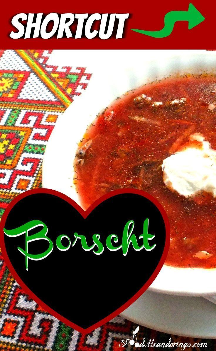 97 best ukrainian recipes images on pinterest kitchens ukrainian easy quick healthy shortcut beef borscht make it for dinner after work forumfinder Gallery