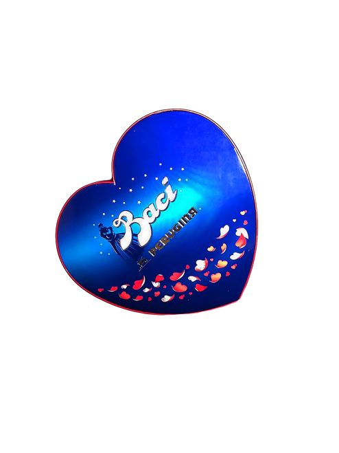 Baci meaning kiss in Italian, makes this the perfect present for someone special!  http://www.italiaregina.it/baci-perugina-heart-shaped-gift-box/