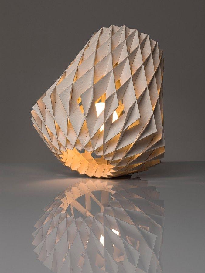 La jolie lampe mais qui doit servir à autre chose qu'à être jolie.