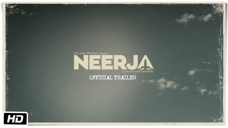 The official trailer of Neerja starring Sonam Kapoor is out and has received great appreciation on social media platforms.