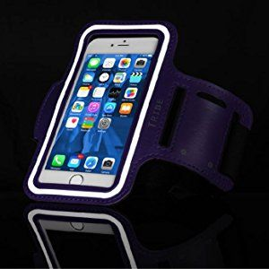 25e553858 Amazon.com  Tribe Water Resistant Cell Phone Armband for iPhone 8