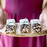 "a batch of homemade healthy granola bars is just the thing to satisfy our sweet tooth this monday evening 👌🏼 find the recipe on laurenconrad.com by searching ""granola bars"" on the site. 📸: valoriedarling"