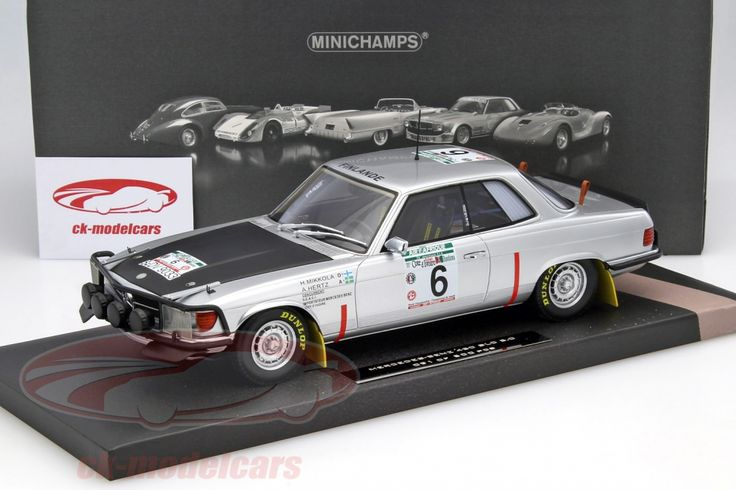 Mercedes-Benz 450 SLC 5.0, Winner Rally Bandama 1979, No.6, H.Mikkola / A.Hertz. Minichamps, 1/18, Limited Edition 500 pcs. Price (2016): 240 EUR.