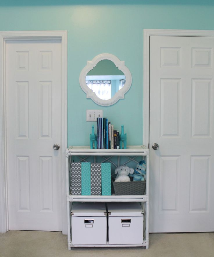 Project Nursery - Bookshelf and Mirror