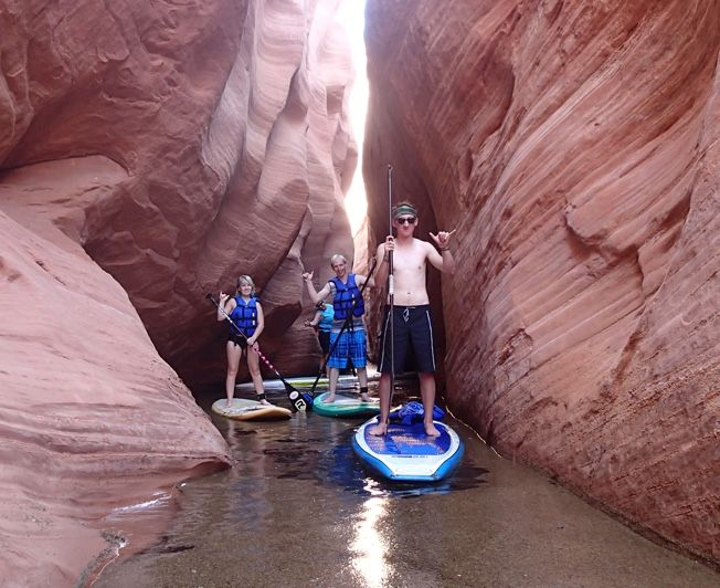 Reasons Celebrities Love Vacations at Lake Powell Lake Powell Paddleboards is a family owned and operated Stand Up Paddle (SUP) shop located in downtown Page, Arizona, just minutes from Lake Powell. Location 836 Vista Ave, Page AZ 86040, mailing address is P.O…