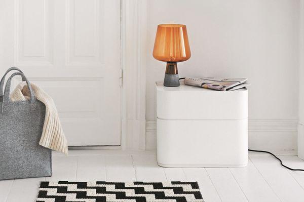 Iittala storage, bag and lamp