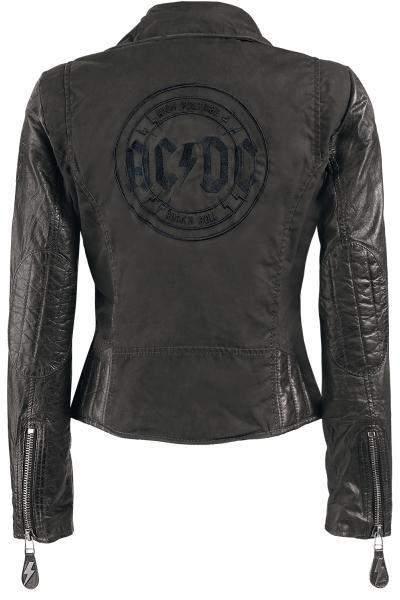 AC/DC chaqueta Mujer en Exclusivo en EMP Online España • Tienda Rock • Heavy Metal • Gótica • Alternativa •