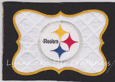 Her Craftiness: Here We Go Steelers!!!