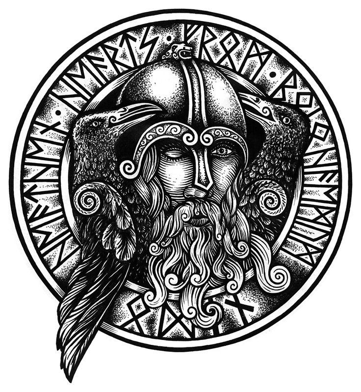 Odin by ~fibacz http://fibacz.deviantart.com/art/Odin-47724607