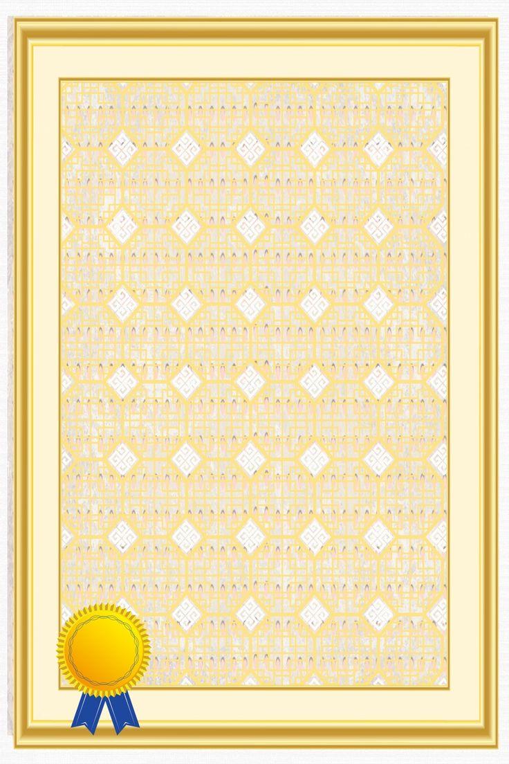 Certificat D'honneur Certificat De Fin D'études Version