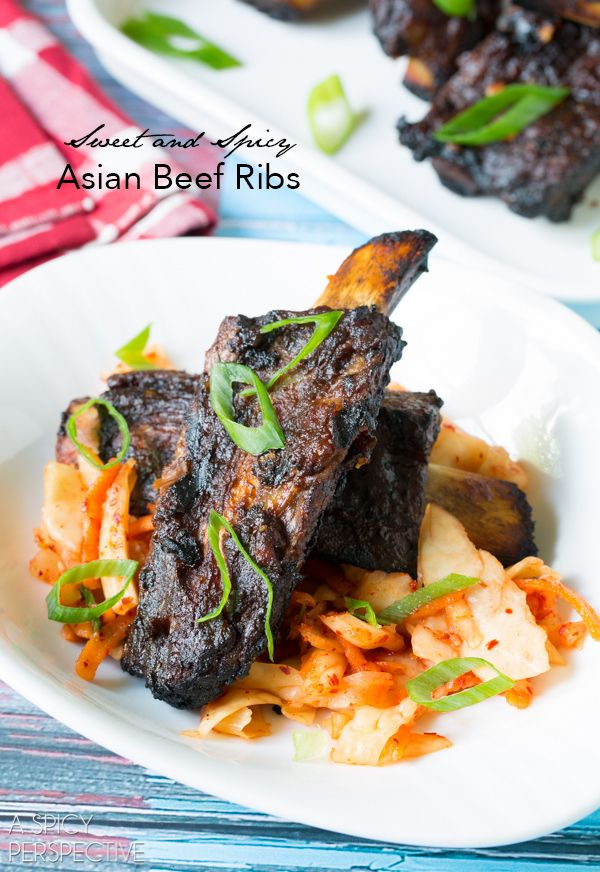 Asian Beef Ribs Recipe.. finally something to do with my apple butter.