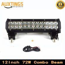 ΔΩΡΕΑΝ ΑΠΟΣΤΟΛΗ 12 «4x4 δέσμη ιντσών 72W COMBO οδήγησε φως γραμμή 12» οδήγησε φως bull bar IP67 οδήγησε φως γραμμές για τα φορτηγά