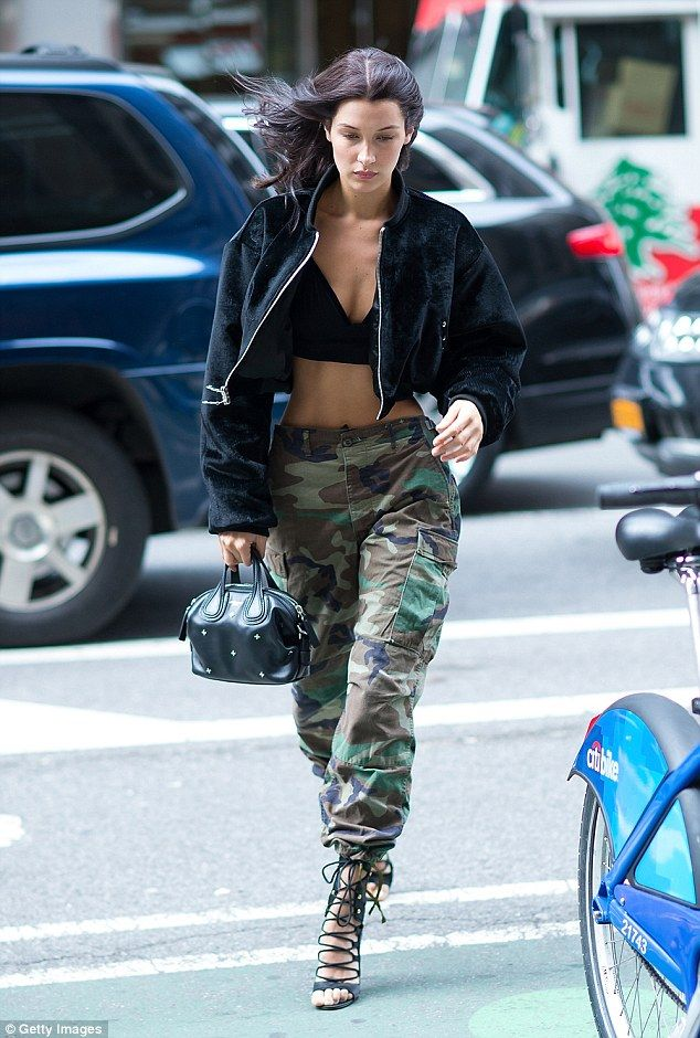 Got her wings: Bella Hadid almost flew out of Victoria's Secret call backs in New York on ...