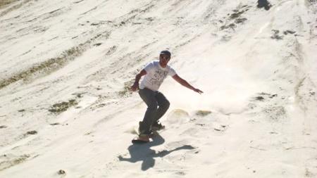Sandboarding... In Benoni