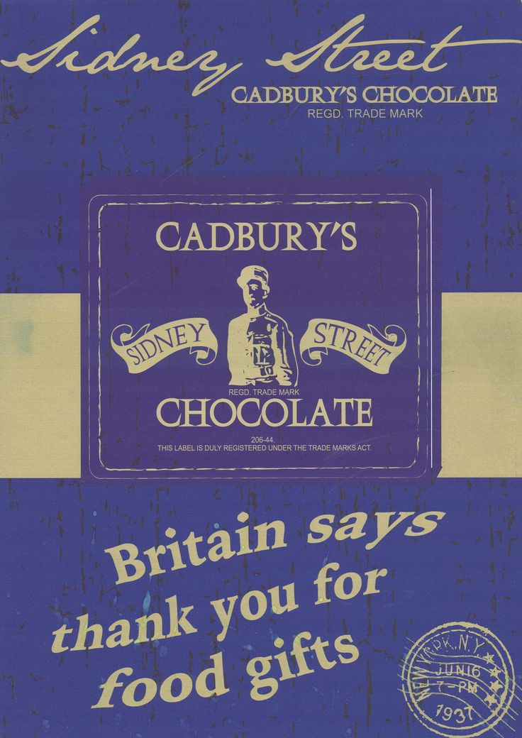 Cadbury Packaging PLUS Poster Design Level 3 Extended Diploma
