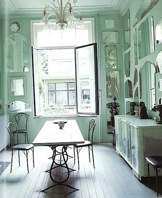 17 Best Images About Green Dining Rooms On Pinterest