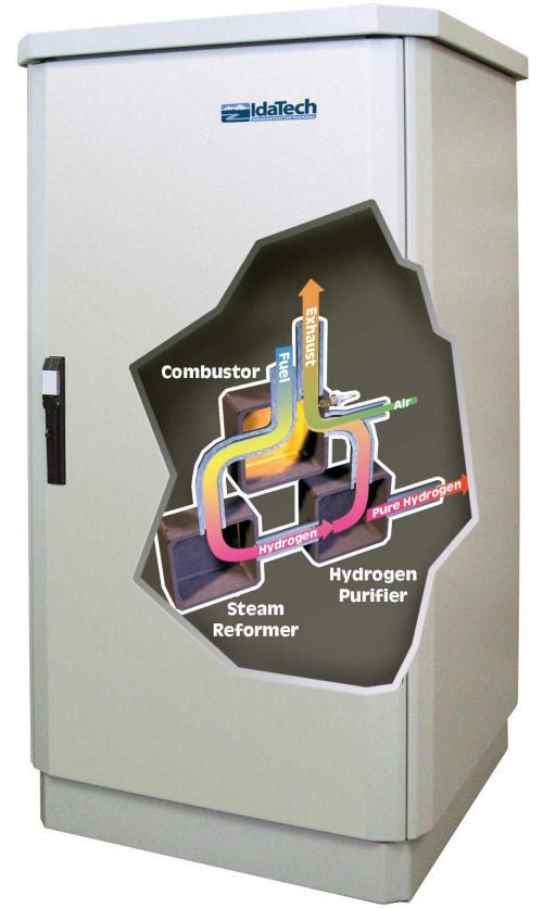 Critical Power Supplies - 3-5 kw pem fuel cell system: electragen image 1