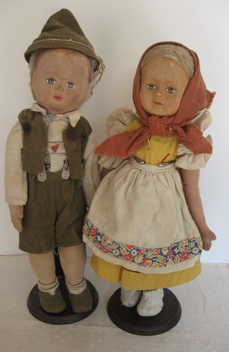 Old Stockingnet Dolls