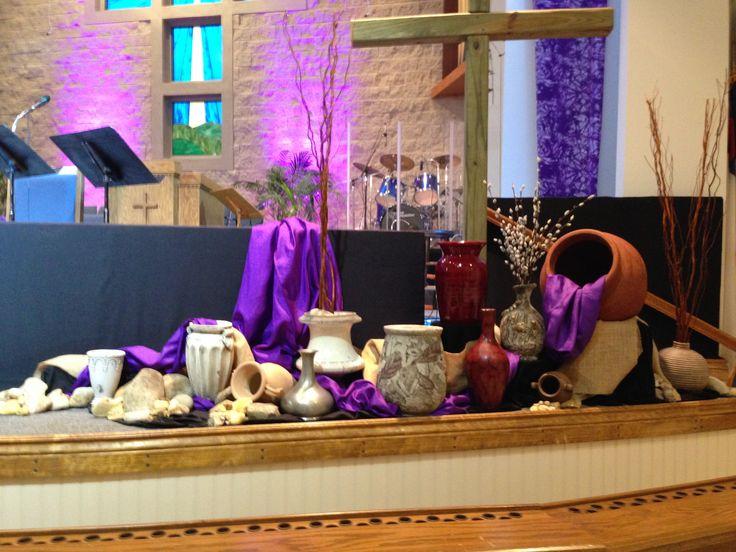 353 best images about Church Decor Ideas: Lent, Palm ...