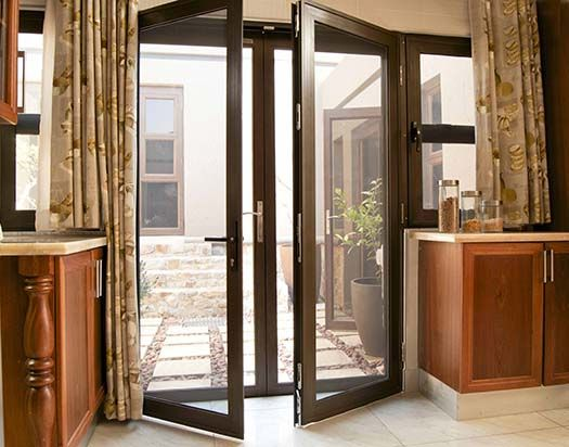 Inswing French Patio Doors With Retractable Screens