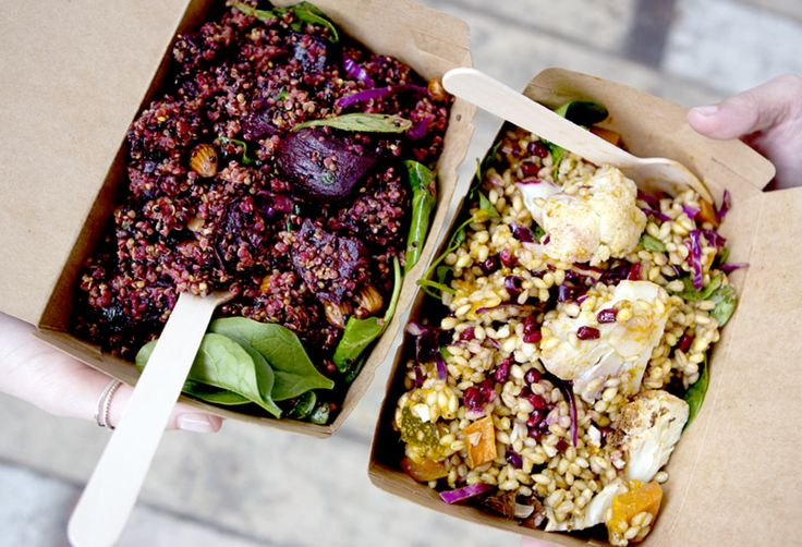 What's in the salad box? Two new vegetarian salads