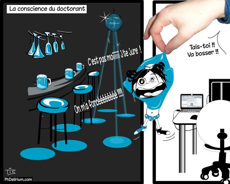 La conscience du doctorant 2 - PhDelirium | PhDelirium