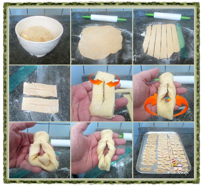 A Receita de Cueca Virada é prática, deliciosa e perfeita para o café da sua família. Se a sua dificuldade era dar forma às cuecas, não se preocupe! Abaixo