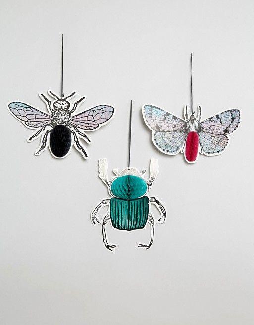 Talking Tables | Подвесные декорации на Хэллоуин в виде насекомых Talking Tables