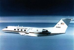 C-20 Gulfstream III operated by the United States Navy