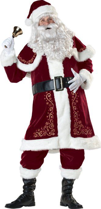 Santa Suit Who's Gonna Be Santa