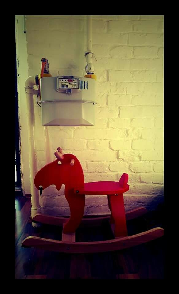 #Budapest #apartment #airbnb #horse #hipster