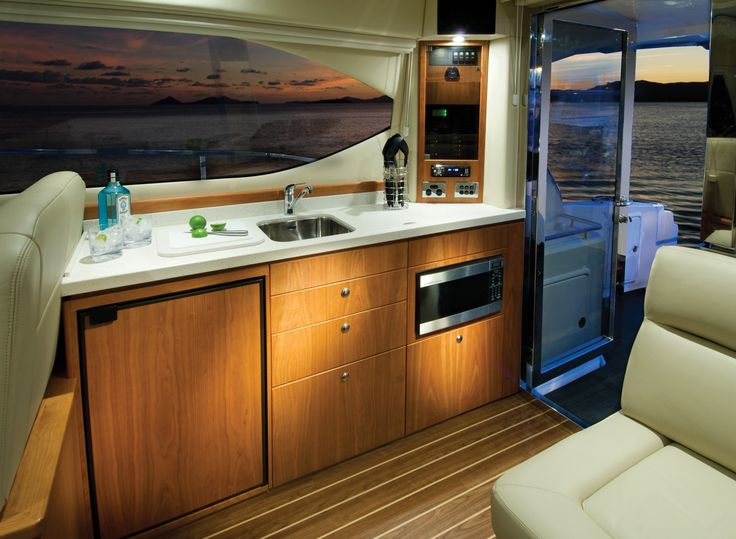 Riviera 3600 Sport Yacht Galley