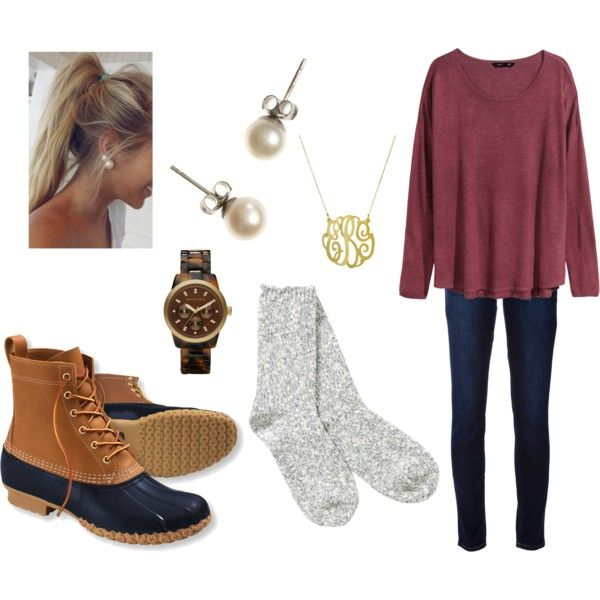 A fashion look from December 2014 featuring H&M sweaters, TNA socks and Paige Denim jeans. Browse and shop related looks.: