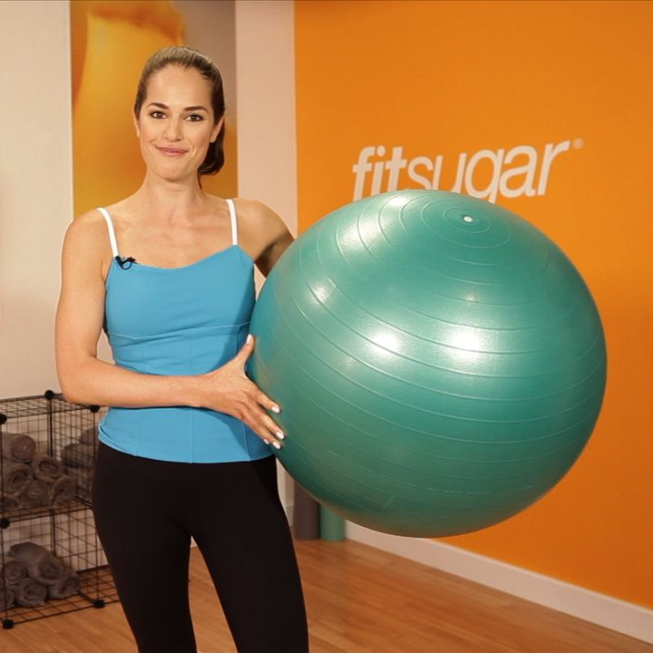 Ab Exercise Must Do: Easy Knee-Tuck Crunches - www.fitsugar.com