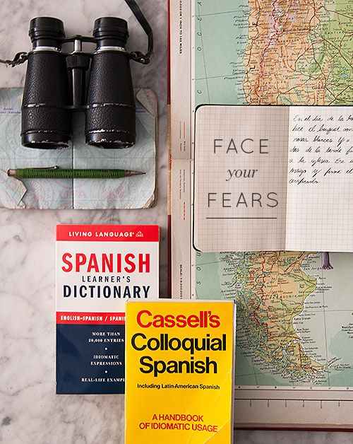 Facing Your Fears: Learning a Language