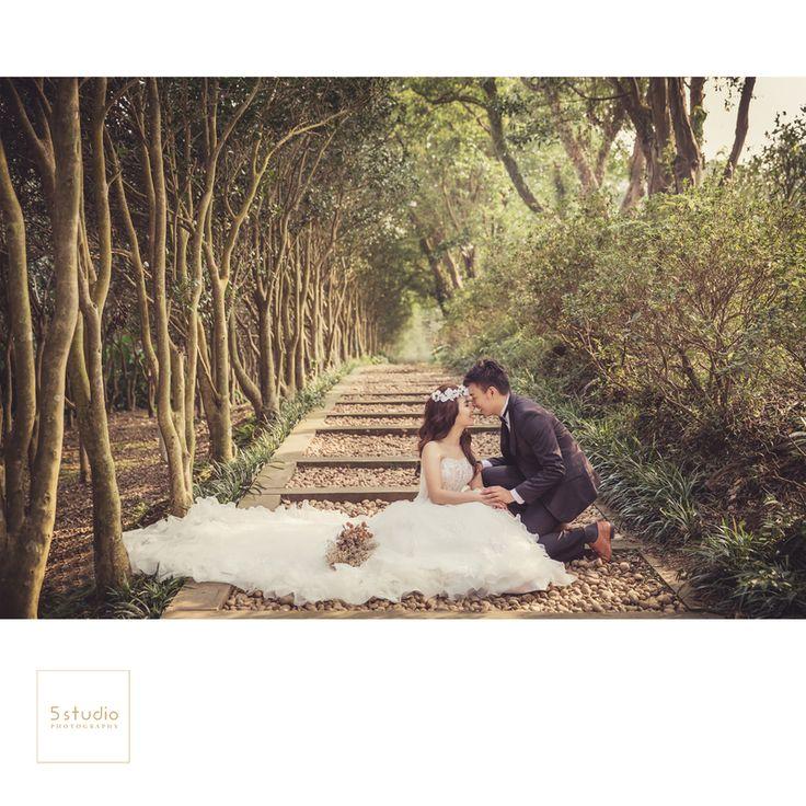 花卉中心婚紗攝影 5studio 婚紗作品 - WeddingDay 我的婚禮我作主
