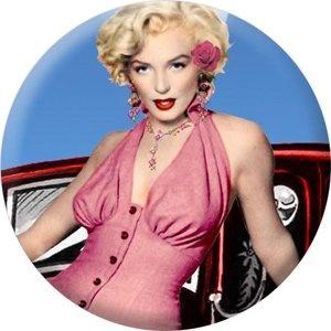 "Marilyn Monroe - ""Pink Dress"" 1.5"" Pinback Button' onload=""if (typeof uet == 'function') { uet('af'); } $1.25"