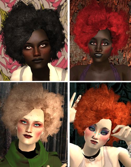 Sims 2 frisuren