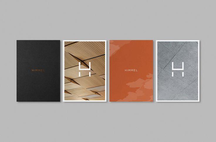 Himmel by Studio Brave. #branding #stationery